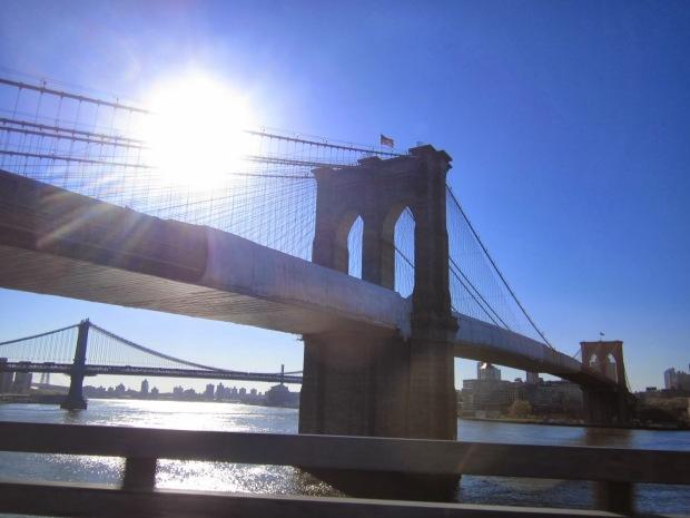 Brooklyn Bridge taken on my trip to New York (May, 2013)
